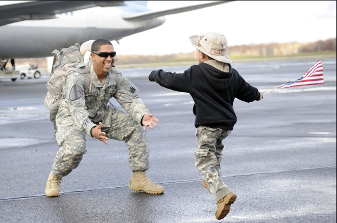 Military deployment and children